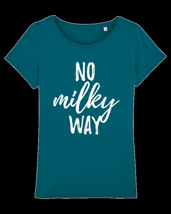 No Milky Way - vegan tshirt dames ocean depth