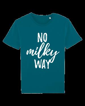 No Milky Way - vegan tshirt heren ocean depth