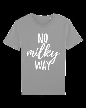 No Milky Way - vegan tshirt heren opal