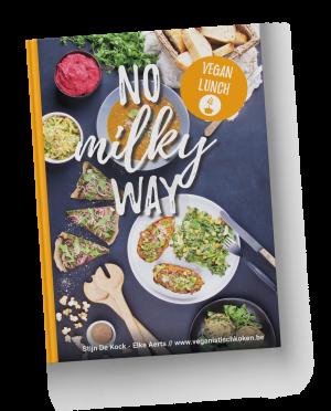 No milky way 2 - vegan lunch - hardcover boek