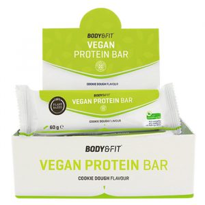 Vegan eiwitreep van Body&fit