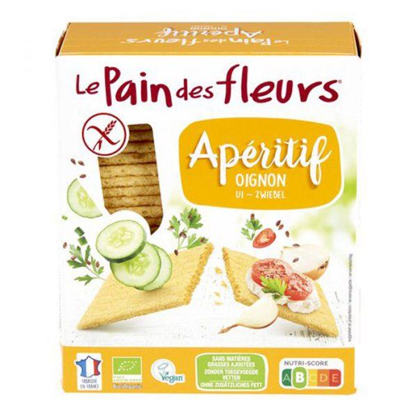 Les pain des fleurs - bio en vegan ui crackers